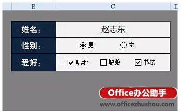 Excel里方框内打勾的应用实例
